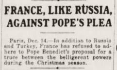 The New York Tribune December 15, 1914