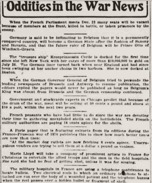The Evening World December 19, 1914